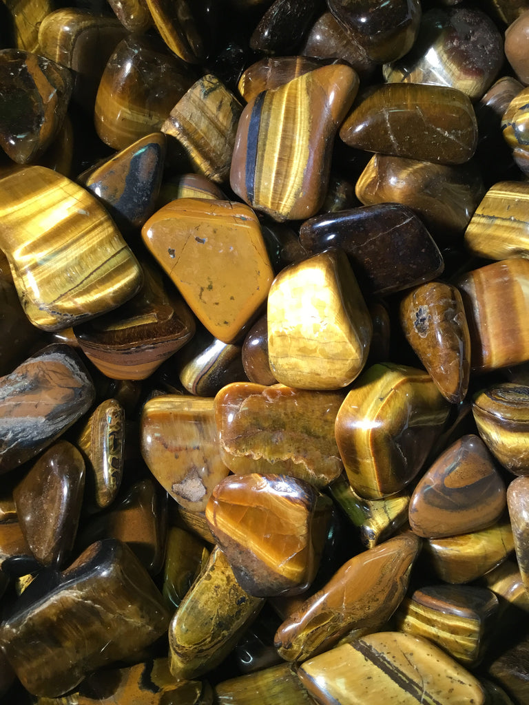 Tiger's Eye - Tumbled