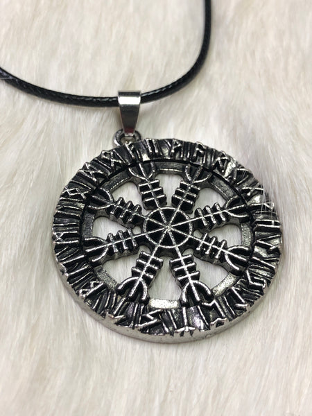 Helm of Awe Pendant Necklace