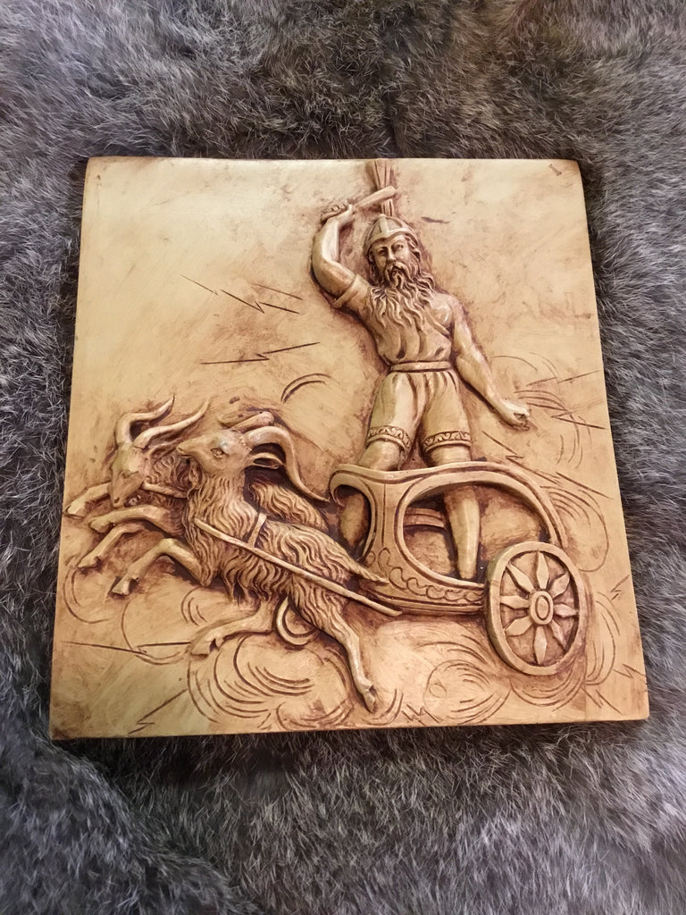 Thor Chariot Wall Plaque