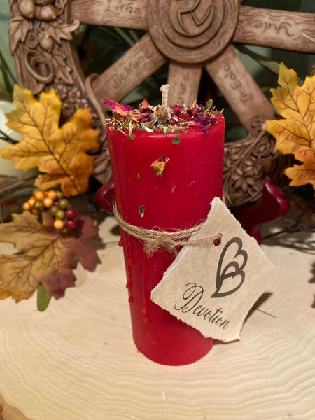 100% Beeswax Candle - Devotion