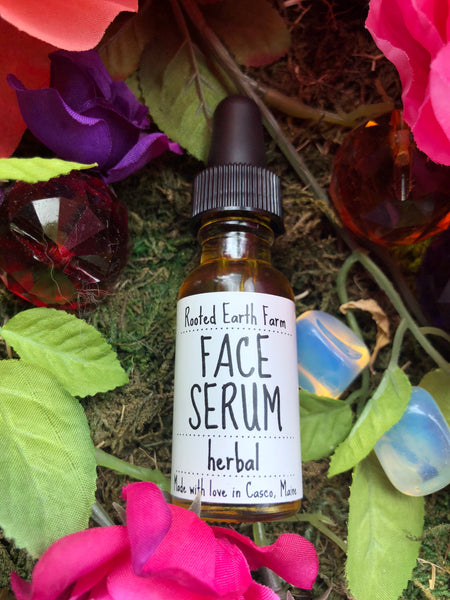 Organic Face Serum - Herbal