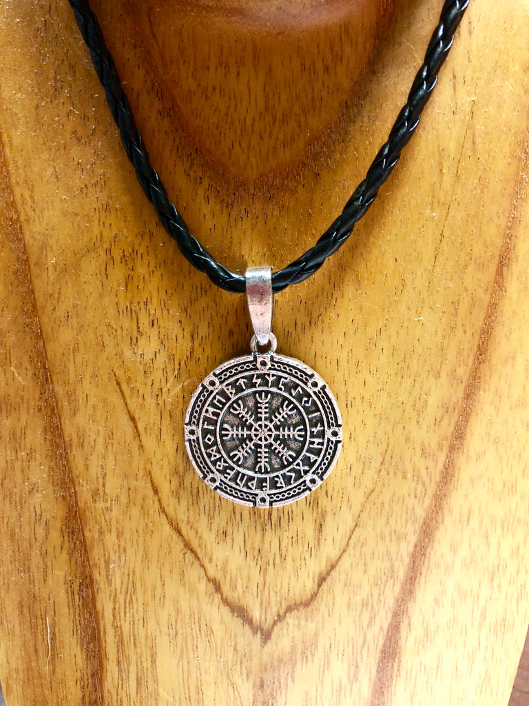 Helm of Awe with Runes Pendant