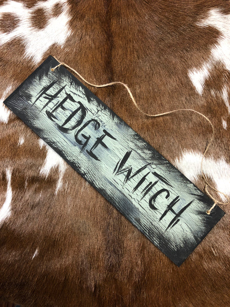 Hedge Witch Plaque