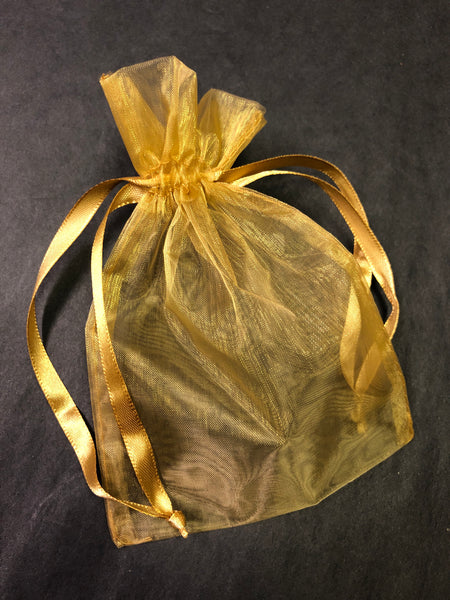 Organza Bag - Gold