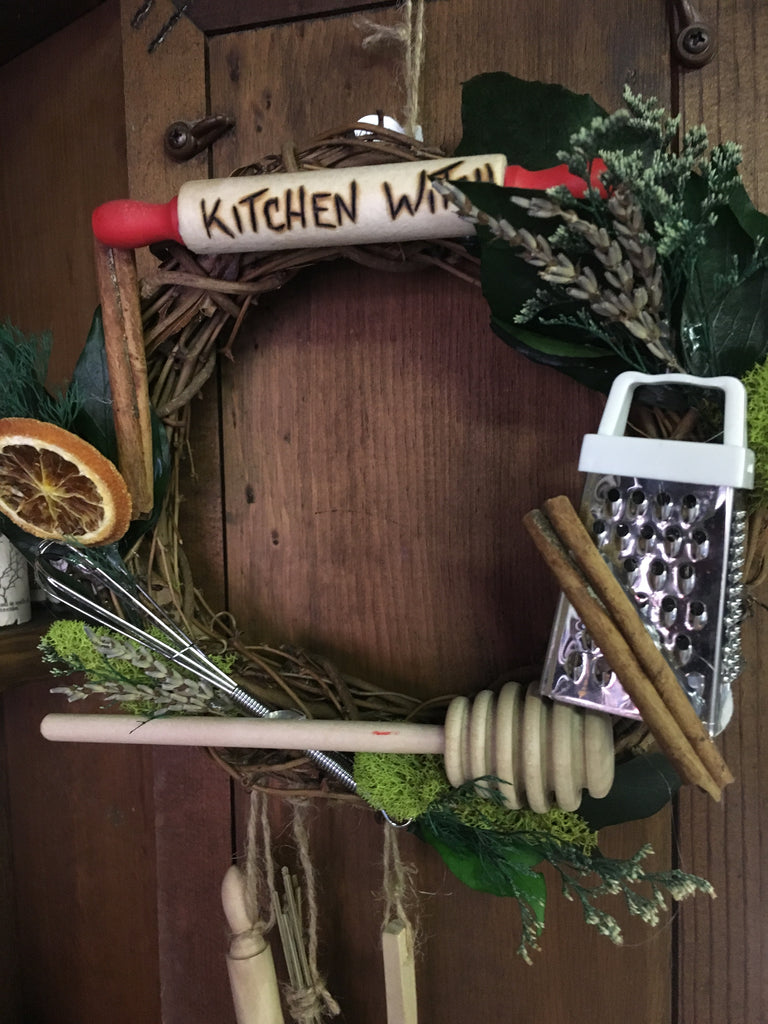 Kitchen Witch Wreath