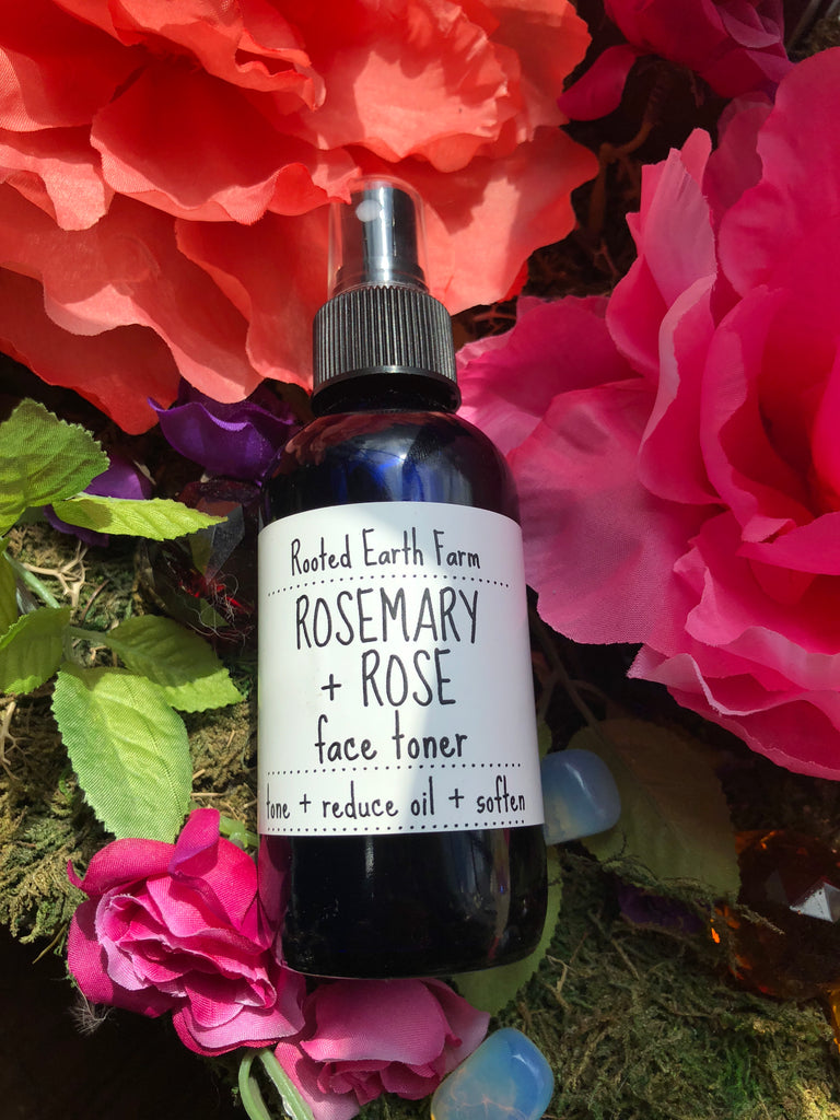 Rosemary and Rose Face Toner