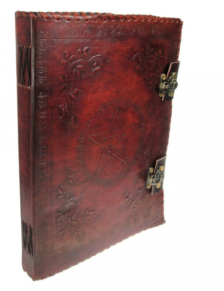 Large Leather Grimoire