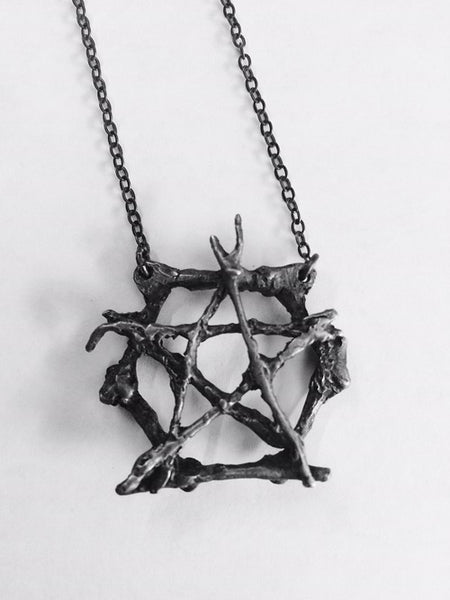 Burial Ground Pentacle Necklace