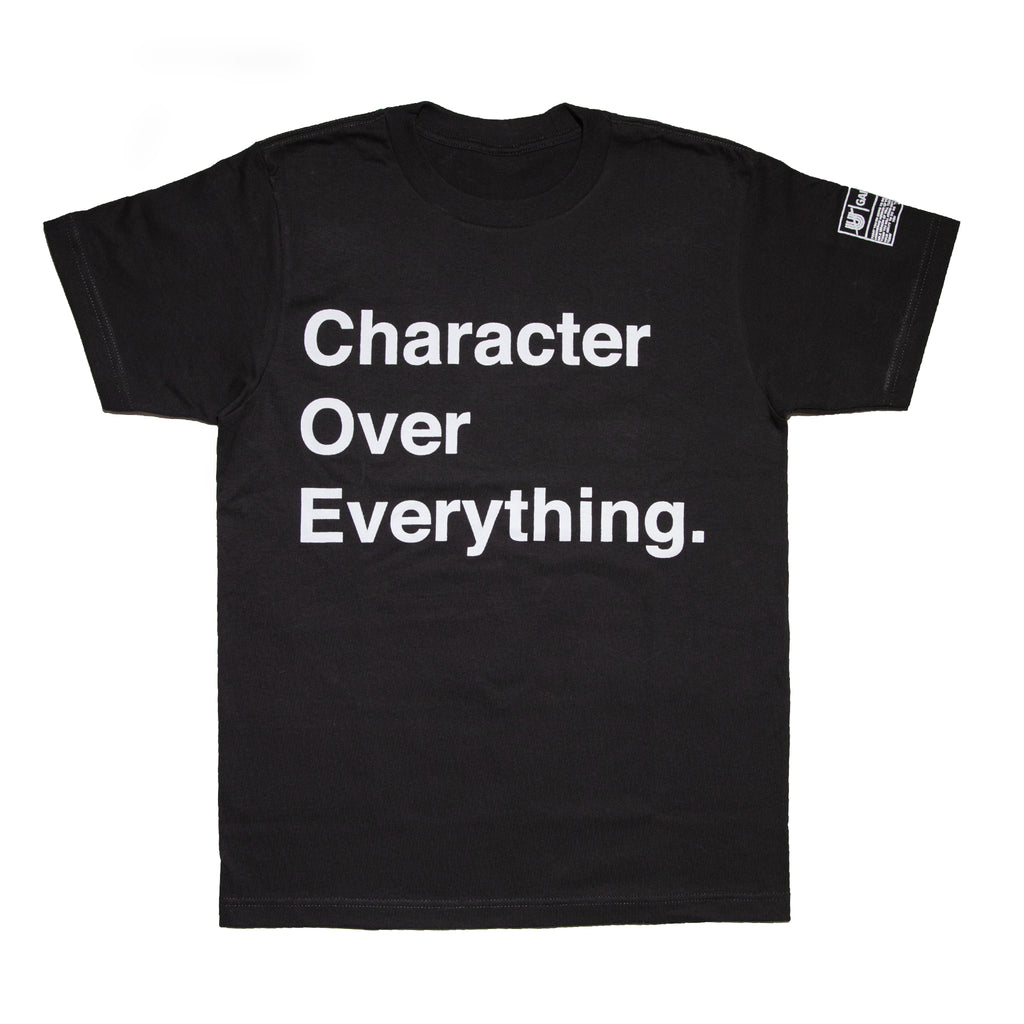 Character Over Everything III Tee
