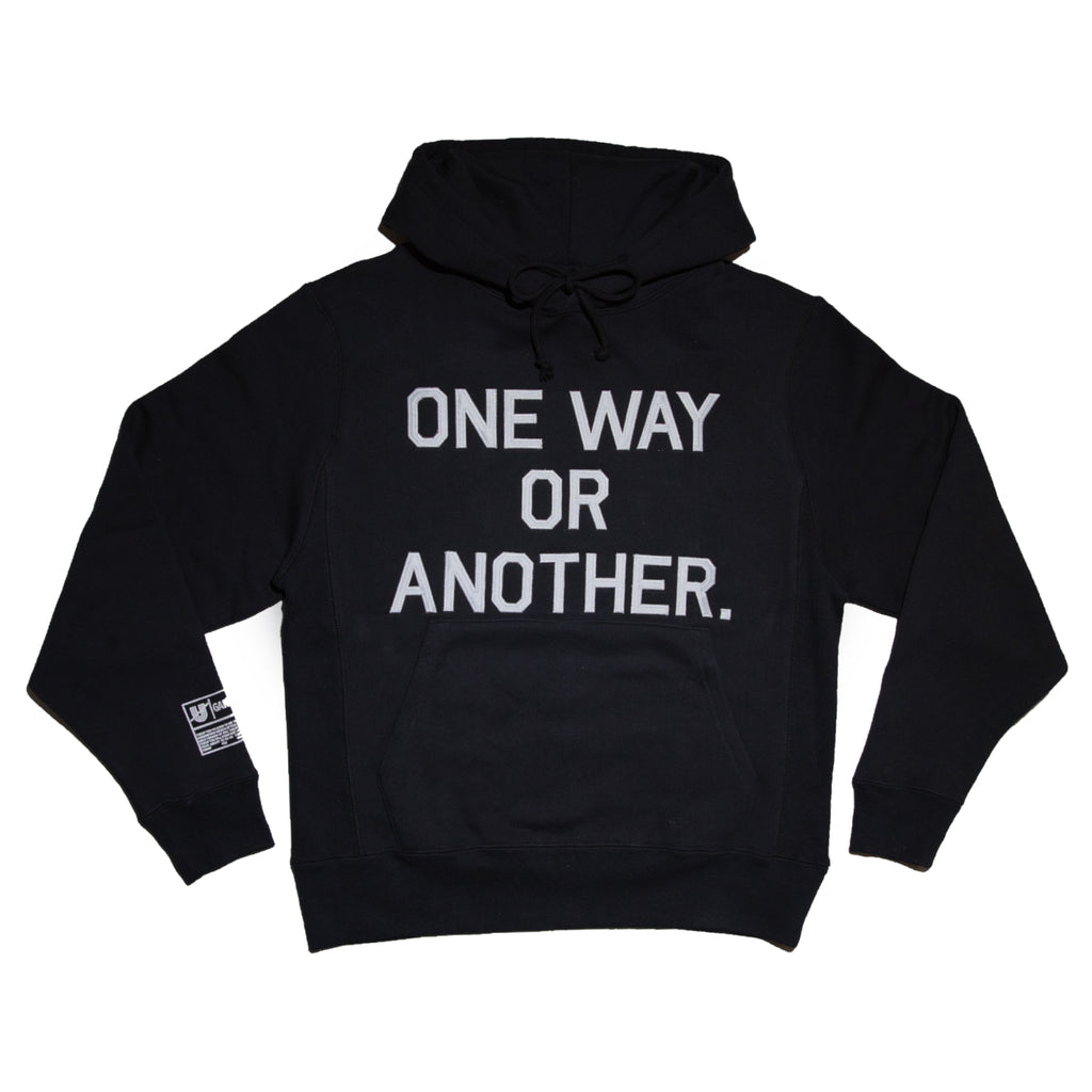One Way Or Another Hand Stitched Hoodie