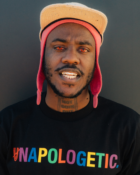 Colorful UNAPOLOGETIC. Tee