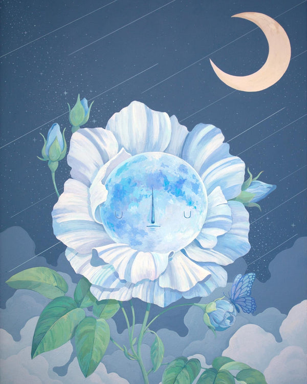 Moonflower Print