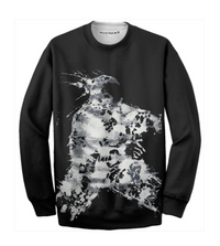 Warrior Crewneck - Black