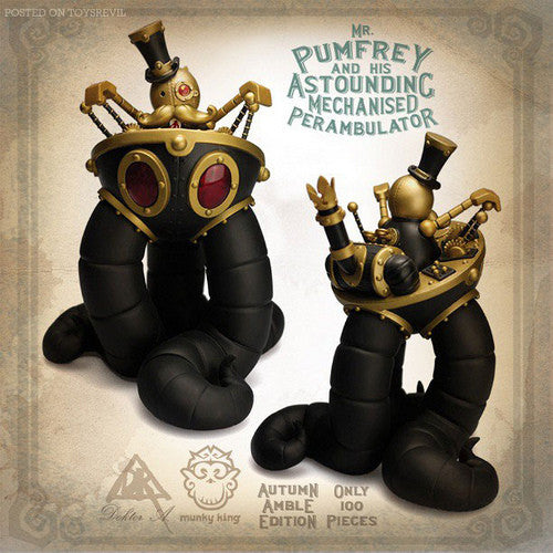 Mr. Pumfrey and His Astounding Mechanised Perambulator - Autumn Amble - SDCC13 Exclusive