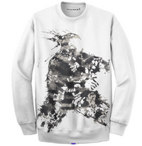 Warrior Crewneck - White