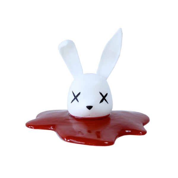 Decapitated Bunny Head -White