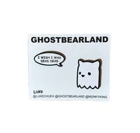 Ghostbear Pin Set