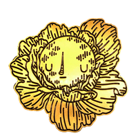 Moonflower Pin