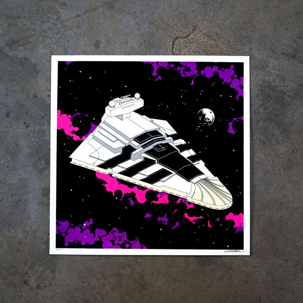 Superstar Destroyer Print