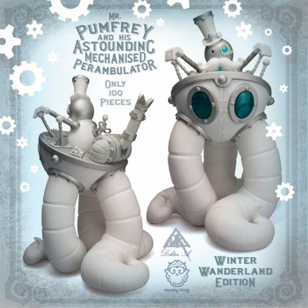 Mr. Pumfrey and His Astounding Mechanised Perambulator - Winter Wanderland