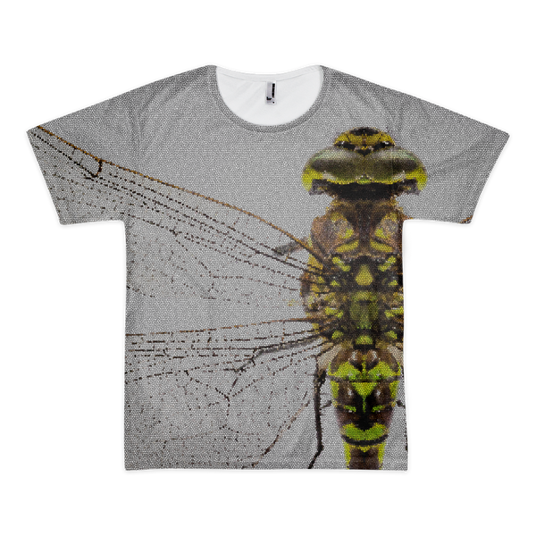 JACQUES MARQUES DRAGONfly Stained Glass Tee