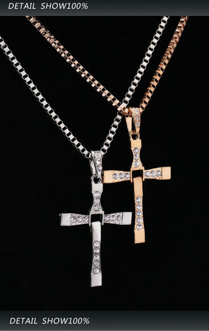 L.A. Man Cross - Necklace, Necklace, Shop 1798855, Miss Molly & Co. - Miss Molly & Co.