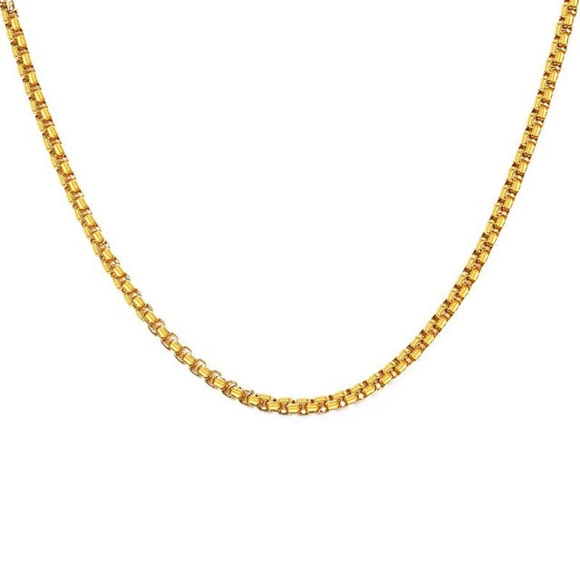 FOR HIM - Gold/Silver Chains (3mm/24inch)