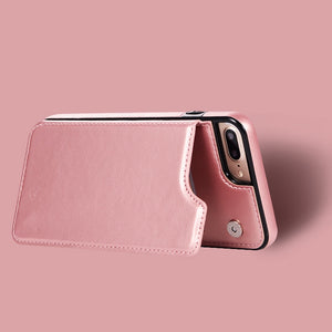 Wallet iPhone Cover (6-11ProMAX)