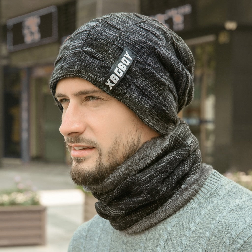 Winter Warmer Beanie/Scarf (Set)