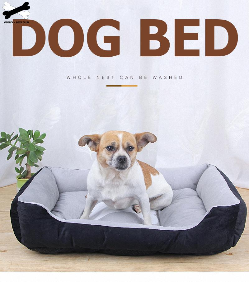 Bone Pet Bed (S-XL)