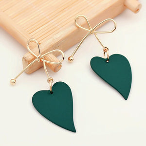 Refreshing Heart - Custom Earrings