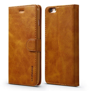 Magnetic Flip iPhone Case (Leather Wallet)
