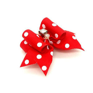 Spots & Dots - Dog Hair Bows (1 Pair)
