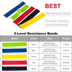 Training Resistance Bands (11/17Pcs/Set)