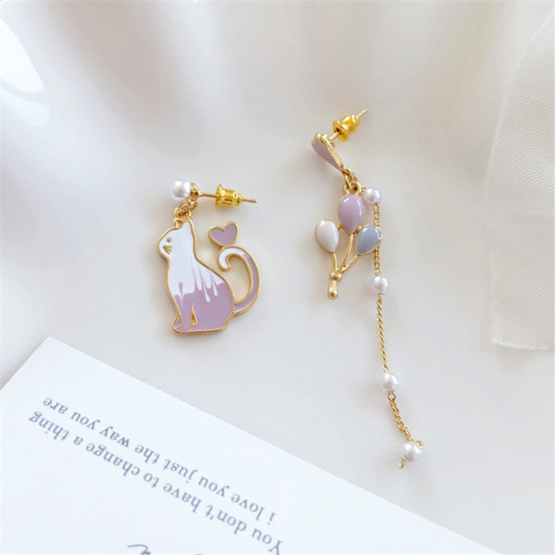 Classic & Cute - Cat-Lady Earrings