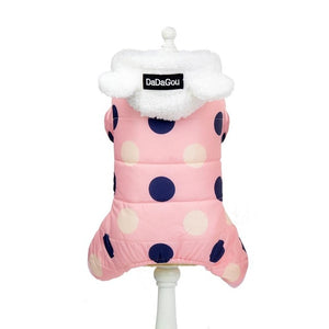 SPOTS for Winter - Pet Hoodie