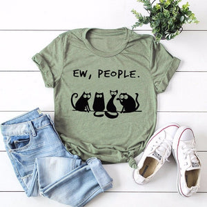 Summer Tee - Cat Love