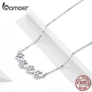 PAW Silver Necklace (925 Sterling Silver)