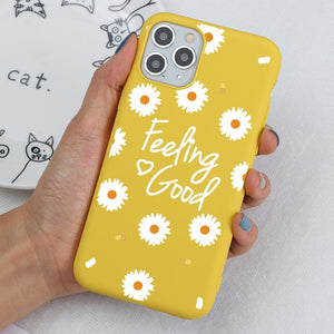 Sunny Flowers - (Soft) iPhone Cases