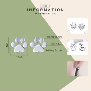 PAW Silver - Earrings (925 Sterling Silver)