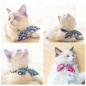 Bunny Bow - Cat Collars