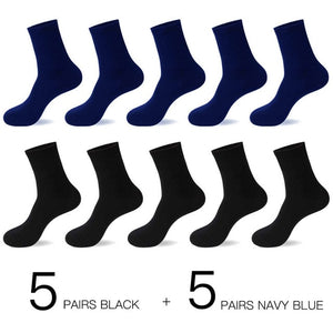 Real Cotton Socks (10 Pairs/Lot)