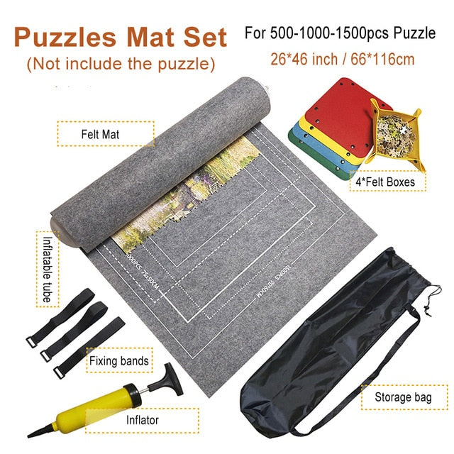 Puzzle Roll Mat - Storage