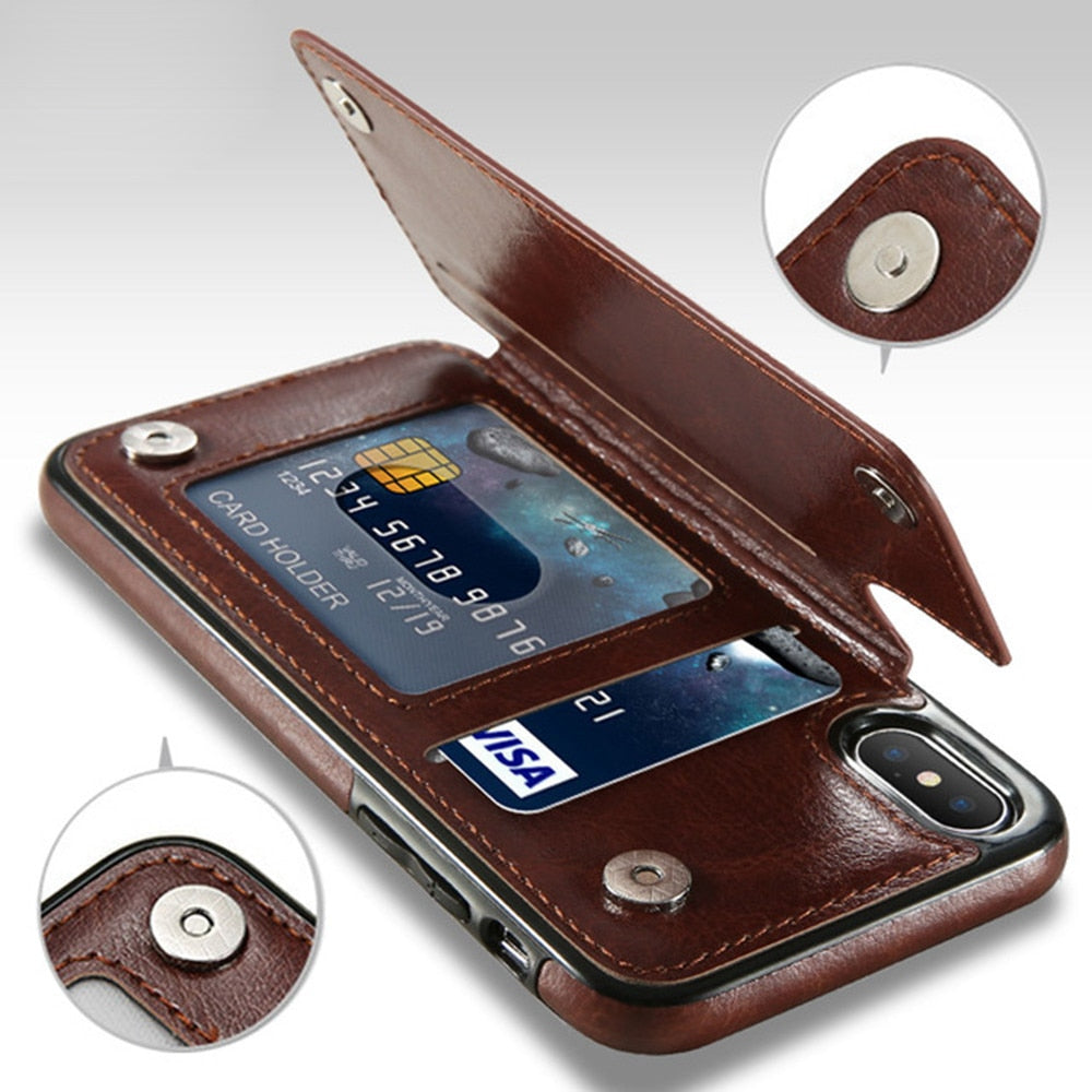 Slim iPhone Card - Phone Holder