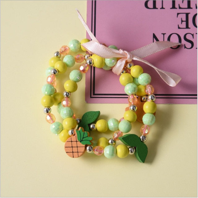 Happy Girl - Bracelets (3pcs)