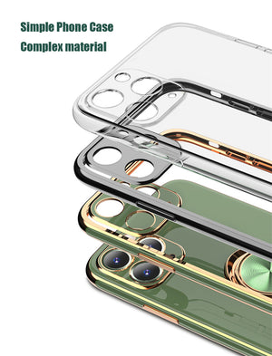 Smart Ring - iPhone Case (Electroplating Silicone) 1