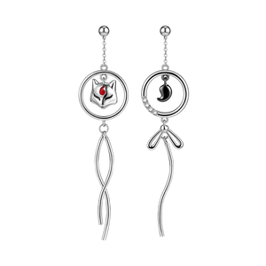 Silver Lantern - Earrings