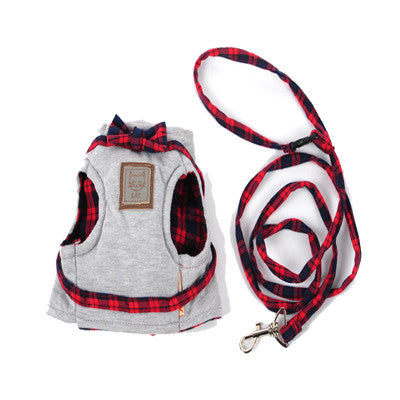 Mr Meow - Pet Cat Vest/Harness (XS-M)
