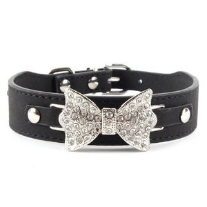 Bow Bling - Pet Collars (XS/S/M)(Just Pay Shipping), Collar, Smilee House Store, Miss Molly & Co. - Miss Molly & Co.