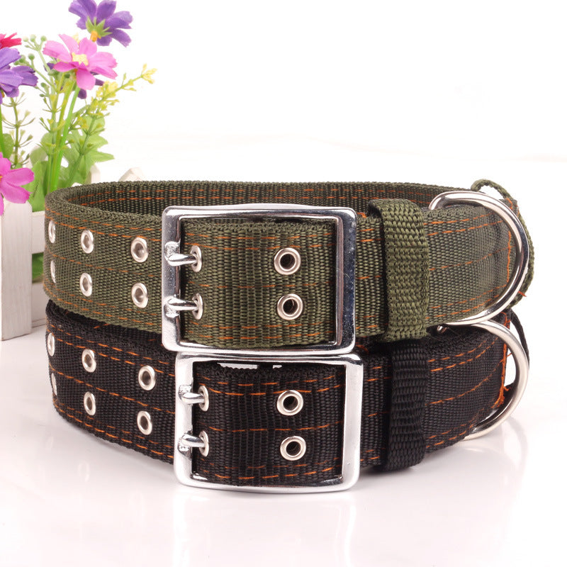 Army Strong - Pet Canvas Collars (XXXL-4XL), Collar, Petdogs Store, Miss Molly & Co. - Miss Molly & Co.